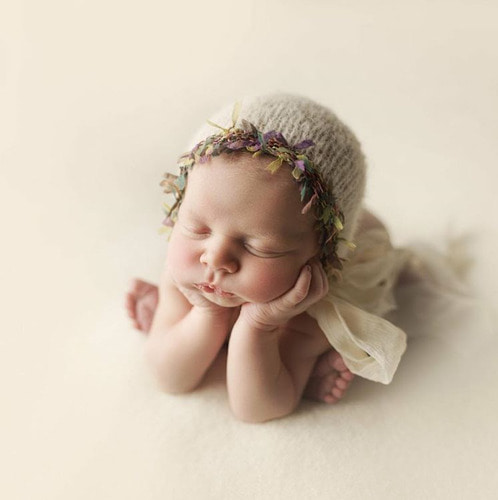 [Baby Studio] 요정세트 ( Newborn Bonnet & Wrap Set )