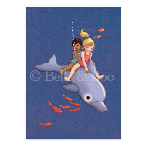 [Belle and Boo] [벨앤부 엽서] Dolphin Adventure