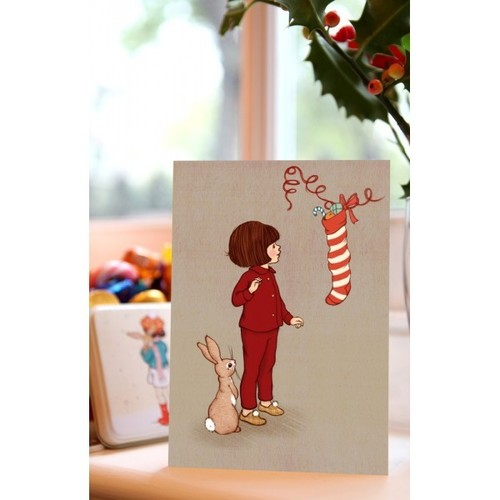 "[벨앤부 카드]""Christmas Stocking"" Card"