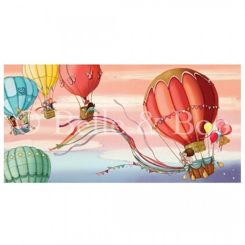 [벨앤부]Hot Air Balloons 'Picture Book' Print