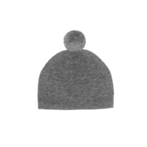 [30% Sale] Laurie pompom hat-Charcoal grey (소재/색상 특성으로 교환/반품 불가)