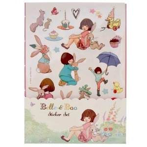 [Belle and Boo] [벨앤부 스티커] Belle & boo sticker set (3 piece)